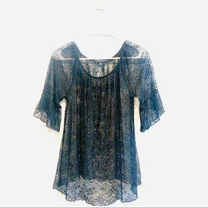 Paraphrase Lace Shirt in Petite
